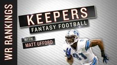 Fantasy wide receiver rankings and sleepers for your draft