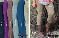 GroopDealz | Favorite Basic Seamless Legging-10 colors