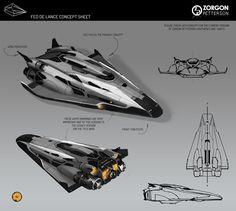 concept ships: Elite Dangerous concept art by Badger Spaceship Art, Spaceship Design, Futuristic Motorcycle, Futuristic Cars, Futuristic Vehicles, Concept Ships, Concept Cars, Armor Concept, Elite Dangerous Ships