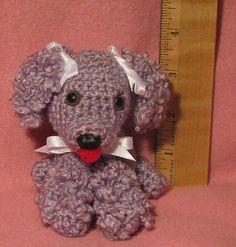 Ravelry: Witty Bitty Baby Poodle pattern by Armina Parnagian Crochet Dog Patterns, Crochet Ideas, Dog Crafts, Dog Items, Bitty Baby, Crochet Basics, Knitted Blankets, Crochet Animals, Crochet Dolls