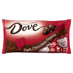 DOVE PROMISES Valentine Dark Chocolate Candy Hearts Bag (Pack of This Valentine's Day, enjoy a premium chocolate experience with the pleasure of Dove Chocolate, Chocolate Pack, Chocolate Sticks, Chocolate Hearts, Chocolate Candies, Office Candy Dish, Candy Hearts, Magnum Ice Cream, Valentine Chocolate