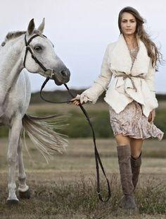 I just love horses...God and horses are where my heart belongs