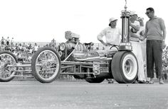 """Sneaky"" Pete Robinson takes the NHRA Nationals Top Eliminator 1961"