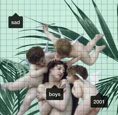 Sad emotional boys 2001