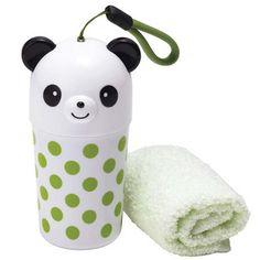 Torune Bento Panda Etui Med Vaskeklud