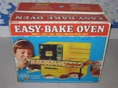 Easy Bake Oven - Me & my 2 brothers ate the cakes too fast so my mom stopped buying the batter. I'm guessing that was a commom dilema...