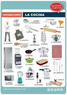 1000 images about proyecto la casa on pinterest spanish for Cocina para cocinar