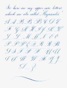 Beautiful Handwriting letter H | My Copperplateish Alphabet - Penmanship - The Fountain Pen Network