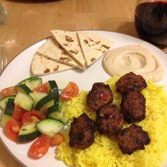 Mediterranean food!