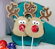 Reindeer Lollipops!