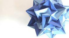Origami - Top Biçiminde Orijinal Çiçek Tasarımı - Japon kağıt katlama sanatı (Origami) - teknikleri, örnekleri ve ipuçlarını videolu anlatımı. Kağıttan hediyelik ve özel günler için orijinal çiçek yapımı