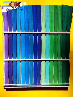 Quilling joy by Marius: Paper strips storage.