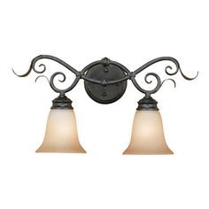 Millennium Lighting 2 Light Bath Vanity Light $75.91 18 inches wide