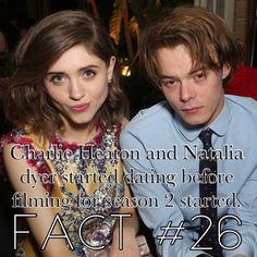 Stranger Things Facts Natalia Dyer Cast Stranger Things, It Cast, Uh Huh, Tv Quotes, Playlists, Netflix, Season 3, Fangirl, Messages