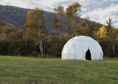 Emergency Shelter Vital Domes Home Page