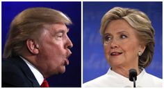 A combination photo shows Republican U. presidential nominee Donald Trump (L) and Democratic presidential nominee Hillary Clinton during their third and final debate at UNLV in Las Vegas, Nevada, U. on October REUTERS/Carlos Barria Donald Trump, Trump Clinton, Usa 2016, What Is Science, Clinton Foundation, Florida, 2016 Presidential Election, Janet Jackson, Environmental Issues