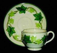 Franciscan Ivy pattern cup and saucer