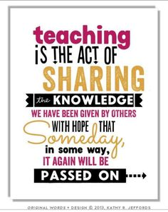 Teaching Quote: The best teachers are those who show you where to ...