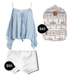 """""""My First Polyvore Outfit"""" by shelby-ann-i ❤ liked on Polyvore featuring Uniqlo, Abercrombie & Fitch, Billabong and Sans Souci"""