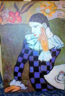 Picasso Arlekinos