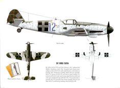 Messerschmitt Bf 109G-10/U4 W.Nr. 612769 (Diana), 101 Neubiberg, April 1945 in Hungarian markings.