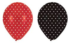 love these, possibly a lady bug theme, either way i have to have polka dot balloons!! $3.06 packs of 6.