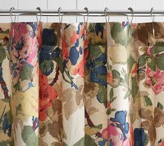 Charlotte Shower Curtain | Pottery Barn