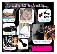 """My life as a Dream"" by infinitygangster on Polyvore featuring art"