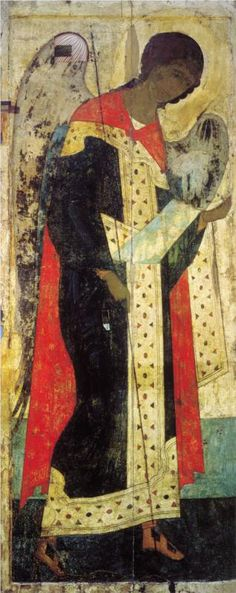 Archangel Michael, 1408			Andrei Rublev - by style - Byzantine
