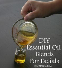 How to Make Your Own Homemade Face Oils http://herbsandoilshub.com/how-to-make-your-own-homemade-face-oils/  This is a great post that explains how to make facial oils using blended essential oils. There's also a discussion of which oils work best with each skin type.
