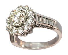 cute diamond flower ring #lionessjewellery #diamonds #flower #ring
