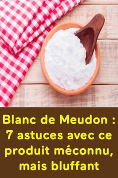Blanc de Meudon : 7 astuces avec ce produit méconnu, mais bluffant Diy And Crafts, Food, Helpful Tips, Cleanser, Natural Cleaning Products, Household Products, Hoods, Meals