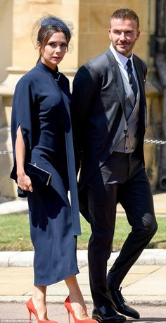 Luxury new-build house dubbed Beggars Lodge could be royals' new home Wedding Morning Suits, Wedding Suits, David And Victoria Beckham, Victoria Beckham Style, Royal Wedding Guests Outfits, Beckham Wedding, Harry And Meghan Wedding, David Beckham Style, Formal Men Outfit