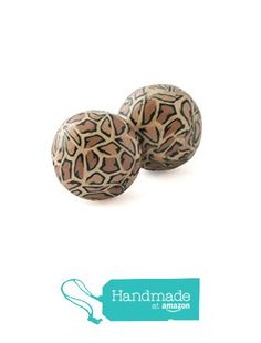 Round Leopard Print Stud Earrings for Women, Handmade Animal Jewellery Gifts for Her from Lottie Of London Jewellery https://www.amazon.co.uk/dp/B01M1IG3V2/ref=hnd_sw_r_pi_dp_7aDhybCR81TE8 #handmadeatamazon