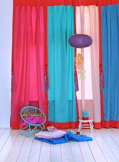 Leuke gordijnen Room Seven | Ideeën meidenkamer | Pinterest | Kid ...