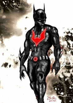BATMAN BEYOND - I wish they would do a MOVIE / STORY line of this.