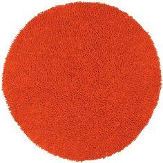 Shagadelic Orange Kids Area Rug