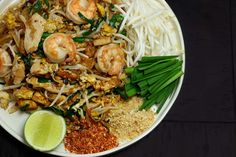 """I'm so excited about this recipe, because my hubby was AMAZED with my Pad Thai recipe. When he had the first bite, he was like """"this is the best pad thai I've ever had!"""" Make the BEST Thai recipe at home!!"""