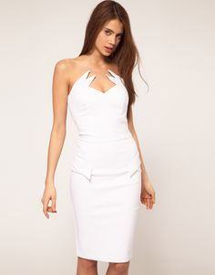 Hybrid Dress with Winged Collar