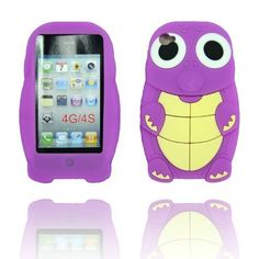 BYG Purple Dinosaur Silicone 3d Case Cover for Iphone 4 4g/4s + Gift 1pcs Phone Radiation Protection Sticker by animal devise, http://www.amazon.com/dp/B00CMS2WXQ/ref=cm_sw_r_pi_dp_mOPHrb1ZBVSGT