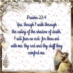 Treasure Box Gif Creations: Psalms 23:4