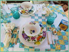 Panoply: Provence Garden Alfresco Dining Tablescape