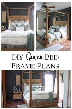 DIY Queen Bed Frame Plans