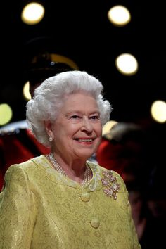 """Queen Elizabeth II attends a reception for """"A Celebration of Novia Scotia"""" at the Cunard Centre on June 2010 in Halifax, Canada. The Queen and Duke of Edinburgh are on an eight day tour of Canada."""