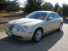 2006 Jaguar S-Type Vanden Plas~ I like this model the best. Black would be better.