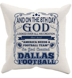 And On The 8th Day Pillowcase