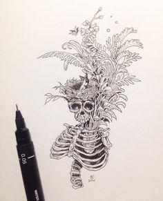 Sketch by Kerby Rosanes #SketchyStories