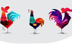 """Check out this @Behance project: """"The Roosters"""" https://www.behance.net/gallery/16777227/The-Roosters"""