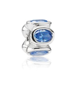 Blue Oval Lights Pandora Charm $75