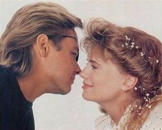 Patch and Kayla (Stephen Nichols and Mary Beth Evans)